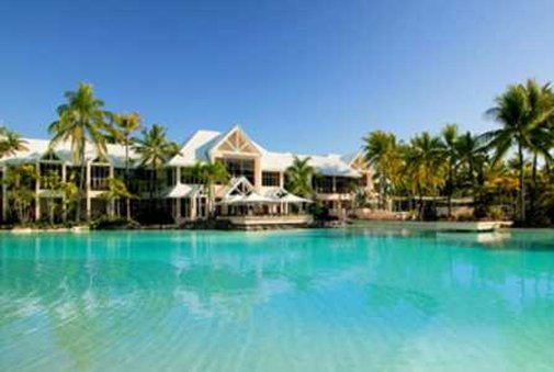 Sheraton Mirage Port Douglas Resort Kilátás a medencére