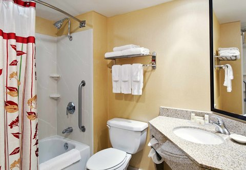 Courtyard By Marriott Athens Hotel - Guest Bathroom