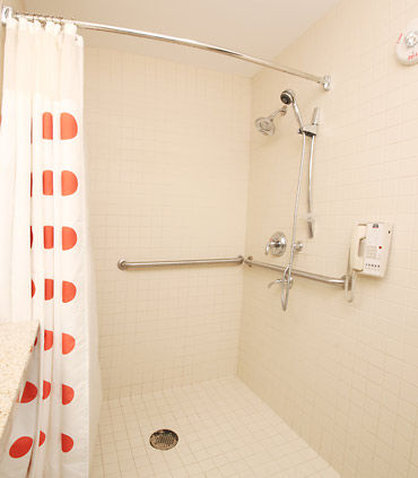 TownePlace Suites Albany Downtown Medical Center Hotel - Accessible Bathroom