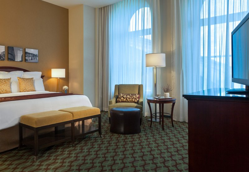 Marriott Philadelphia Downtown 客房视图
