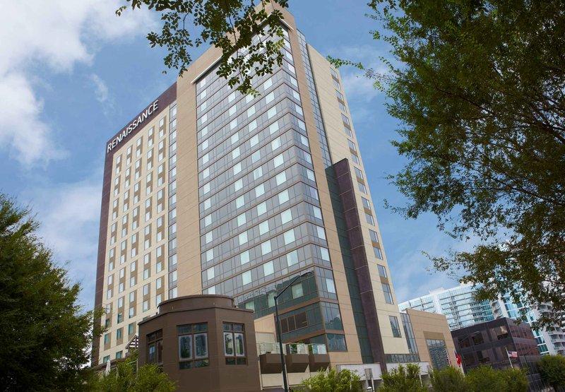 Renaissance Atlanta Midtown Hotel Set udefra