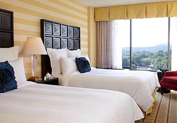 Renaissance Asheville Hotel Vista della camera