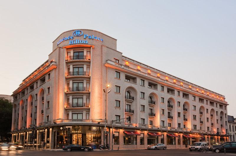 Athenee Palace Hilton Bucharest hotel Exterior view