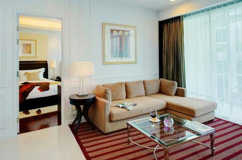 Anantara Baan Rajprasong Serviced Suites - Two Bedroom Suite Living Area