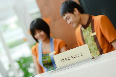 Anantara Baan Rajprasong Serviced Suites - Welcoming Reception