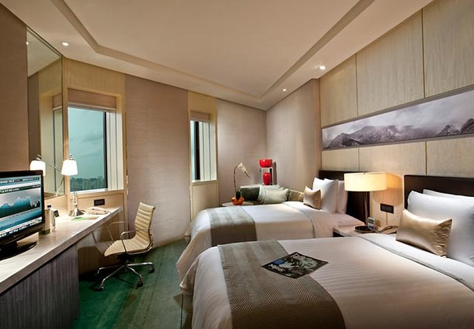 Courtyard by Marriott Pudong Shanghai Widok pokoju