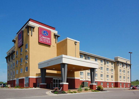 Comfort Suites Set udefra