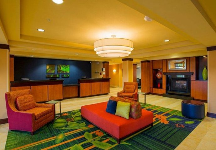 Fairfield Inn & Suites Venice Lobby