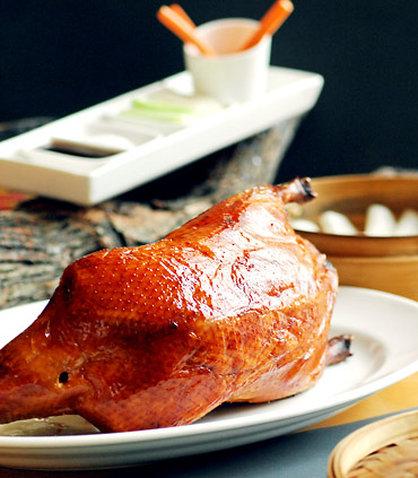 Renaissance Beijing Capital Hotel - Fat Duck Restaurant   Beijing Duck