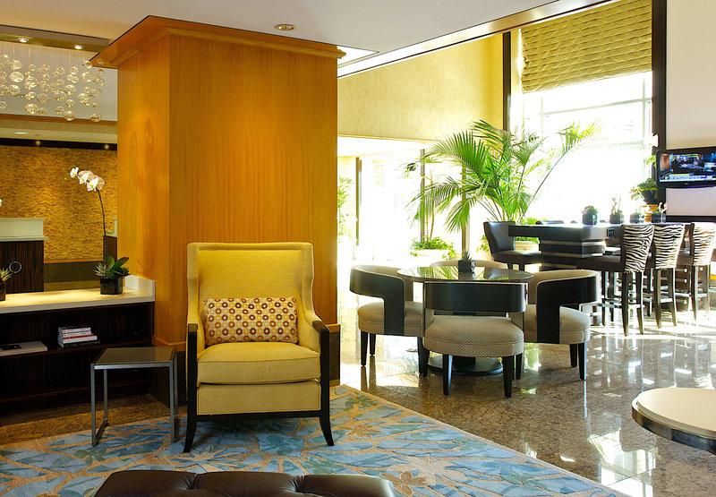 JW Marriott Le Merigot Beach Hotel & Spa Santa Monica Zimmeransicht