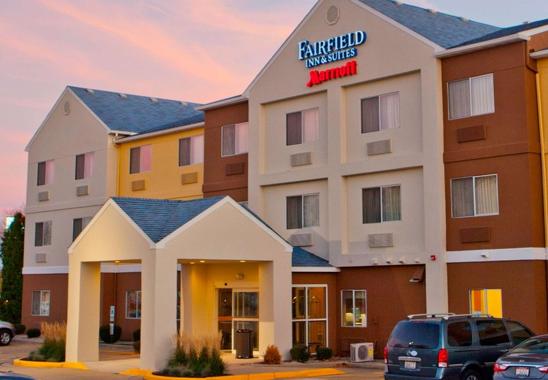 Fairfield Inn Joliet North 外観