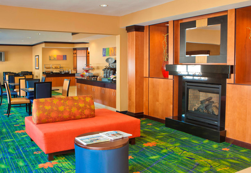 Fairfield Inn Joliet North Lobby