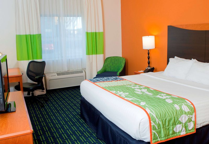 Fairfield Inn Joliet North Vista do quarto