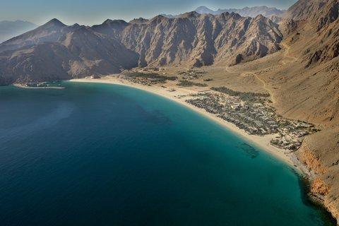 Six Senses Zighy Bay - Aerial View