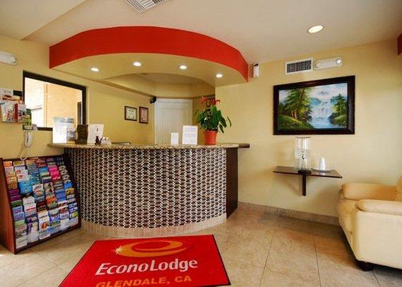 Econo Lodge Glendale Lobby