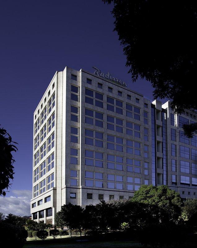 Radisson Royal Bogota Hotel Außenansicht