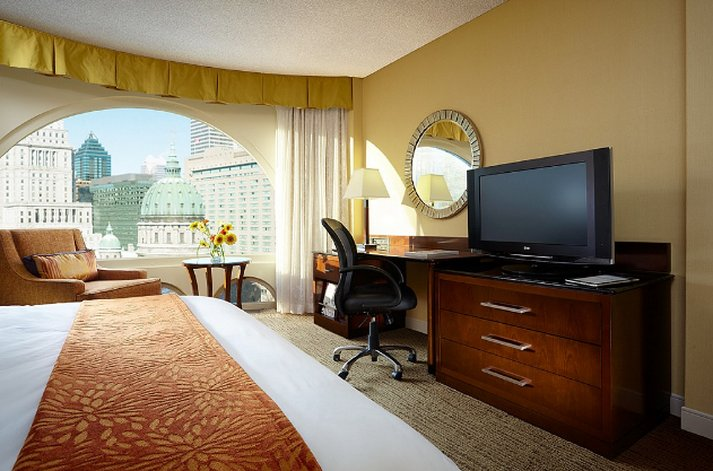 Montreal Marriott  Chateau Champlain Chambre