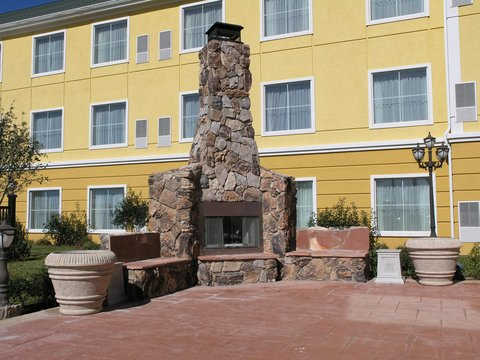 Homewood Suites by Hilton Amarillo - Patio   Fireplace