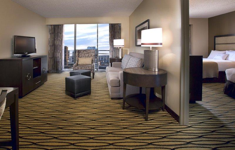 Doubletree Guest Suites Austin Odanın görünümü