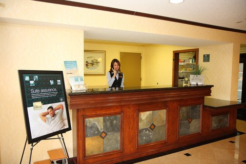 Homewood Suites by Hilton Brownsville - Front Desk Area