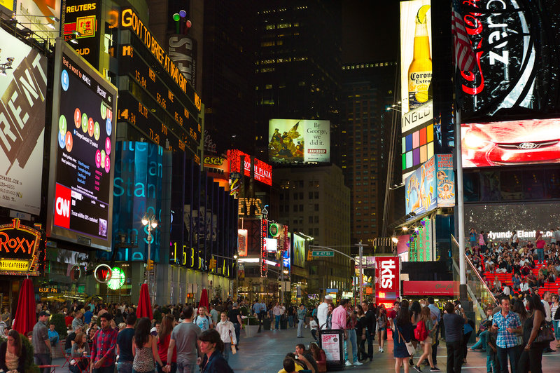 Crowne Plaza Hotel Times Square Manhattan Dış görünüş