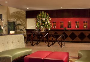 Lobby Marriott Hotel Research Triangle Park Durham