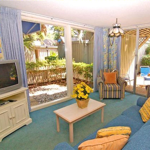 The Village at Palmetto Dunes by Hilton Head Accommodations - Village BLR patio  Small