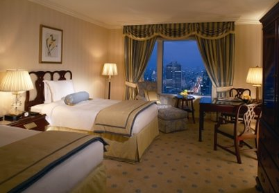 The Ritz-Carlton Osaka 客房视图