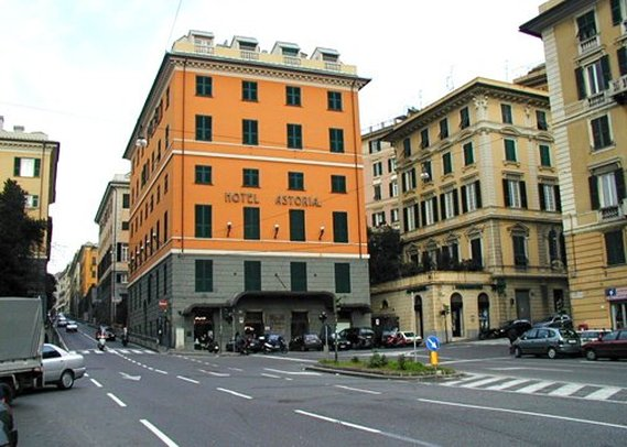 Clarion Collection Hotel Astoria Genova Widok z zewnątrz