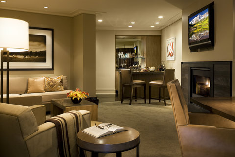 The Little Nell - Suite Living Area