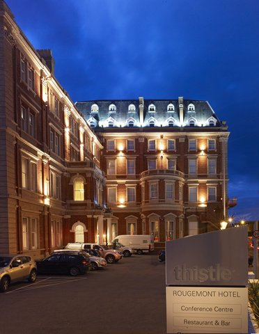 Thistle Exeter The Rougemont - Hotel Exterior - Night