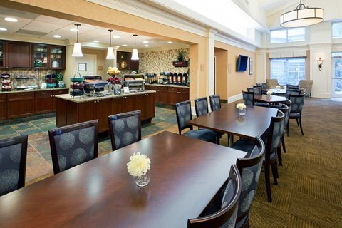 Homewood Suites by Hilton Albany Hotel - Breakfast Area