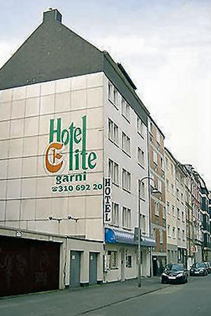 Hotel Elite an der Universität - Exterior