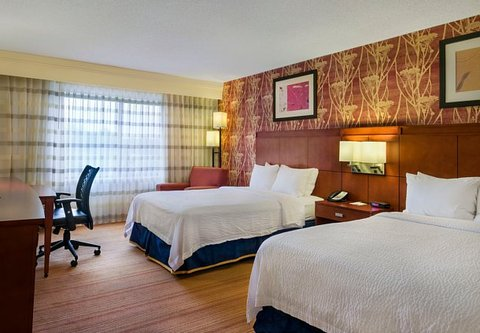 Courtyard Boston Westborough - Double Double Guest Room