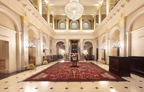 ذا غروفنور - The Grosvenor Hotel Lobby