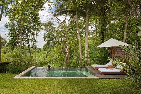 Uma Ubud - Uma Pool Villa Pool Area