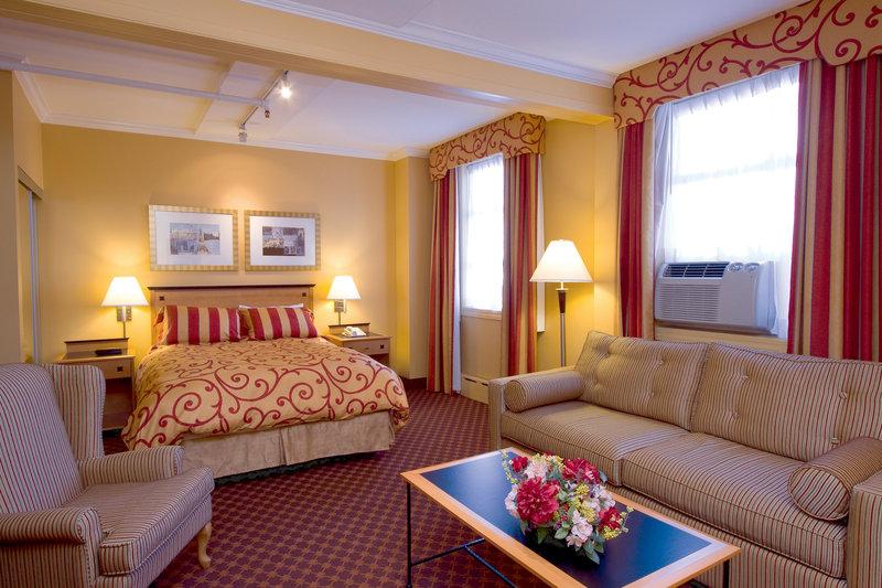 Howard Johnson Hotel Vancouver Downtown Szobakilátás