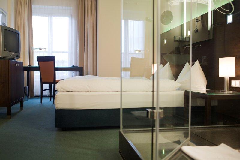 Flemings Hotel Frankfurt Hamburger Allee Szobakilátás