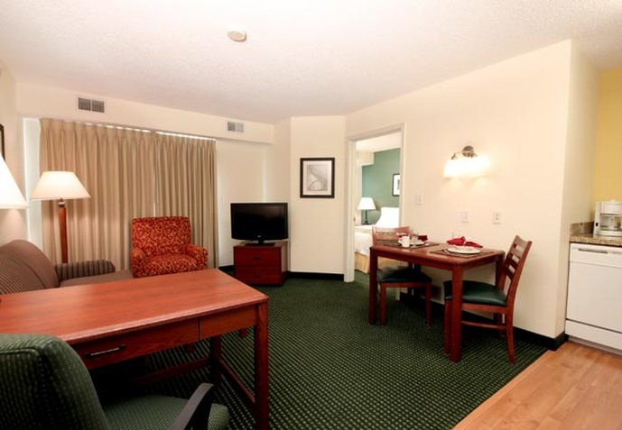 Residence Inn Houston Intercontinental Airport at Greenspoint Вид в номере