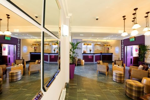 Edinburgh City Hotel - Reception