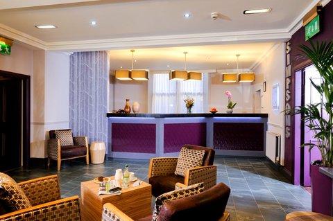 Edinburgh City Hotel - Reception 2