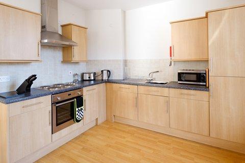 Rasmus Luxury Apartments - Kitchen