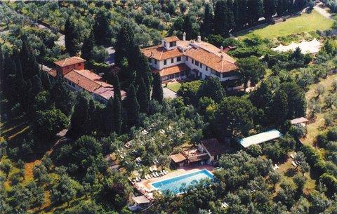Hotel Villa Le Rondini - Arial View
