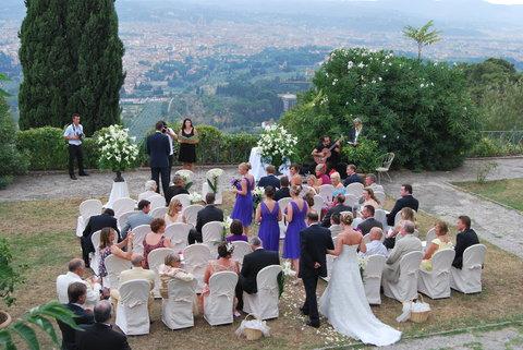 Hotel Villa Le Rondini - Wedding View
