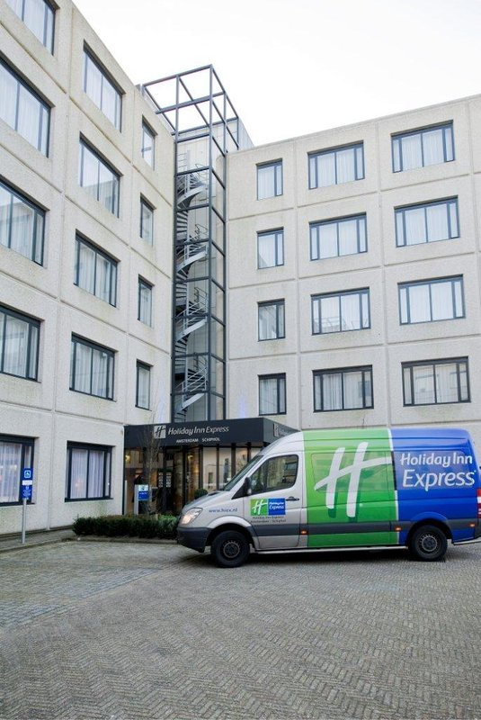 Holiday Inn Express Amsterdam - Schiphol Pohled zvenku