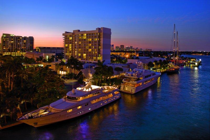 Hilton Fort Lauderdale Marina Ulkonäkymä
