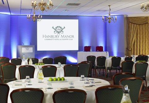 Hanbury Manor Marriott Hotel & Country Club - Hanbury Manor Meetings