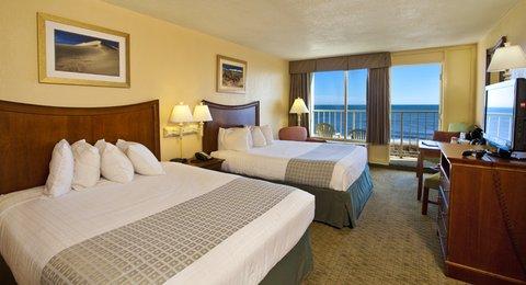 Ramada Plaza Nags Head Oceanfront - Oceanview room with two queen beds