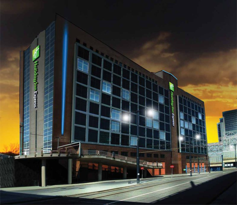 Holiday Inn Express Amsterdam - Sloterdijk Station Fasad