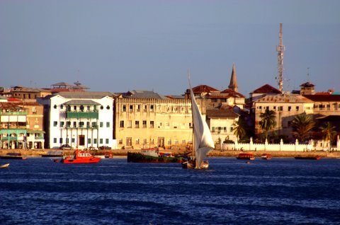 Sea Cliff Hotel - Stone Town From Sea